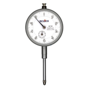 Teclock  Long Stroke Dial Indicator,30/0.01mm – KM-131 (Standard Type)
